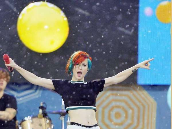 Hayley Williams of Paramore performs on ABC's