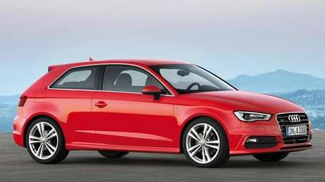 The sticker price for the Audi A3 starts