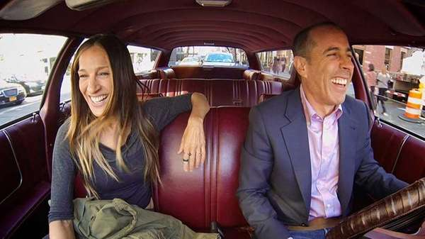 Sarah Jessica Parker and Jerry Seinfeld in his