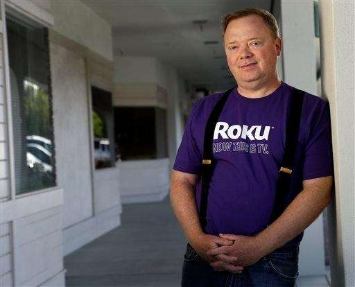 Anthony Wood, CEO of Roku, poses for a