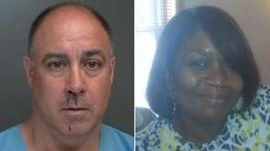 Thomas Stavola, left, 54, of Setauket, was charged