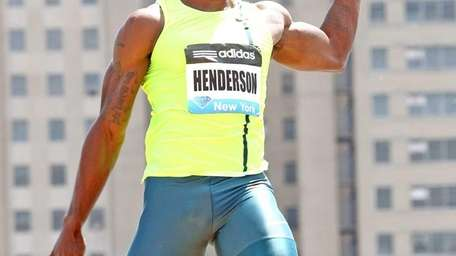 Jeff Henderson from the USA finished first in