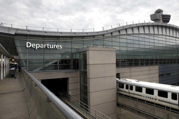This file photo shows Terminal 4 at John