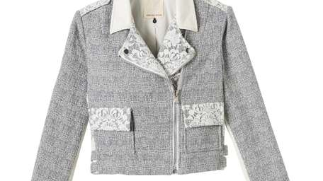 Rebecca Taylor spring collection merchandise, like this tweed