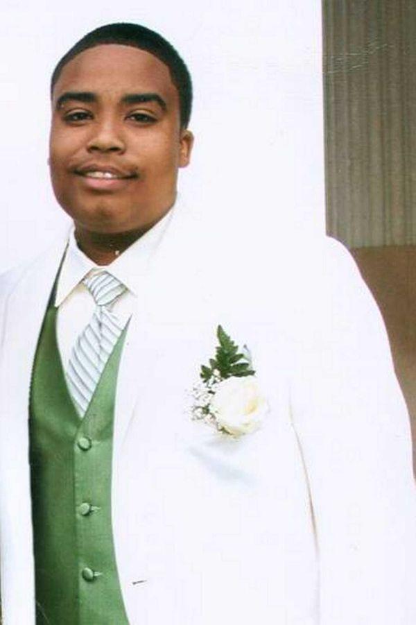 Brian Bess Jr., 20, a member of the