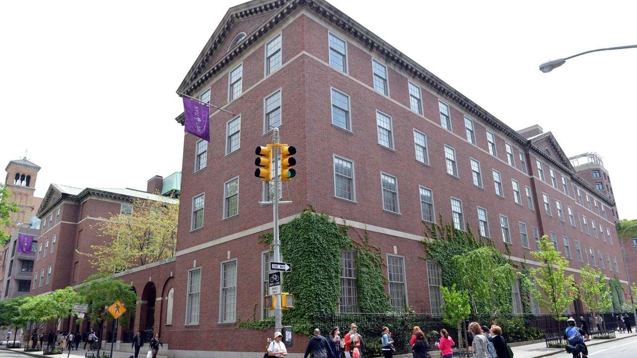 Vanderbilt Hall, part of New York University School