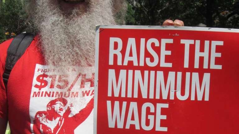 Bob Commike, a teamster from Plainview, LI, was