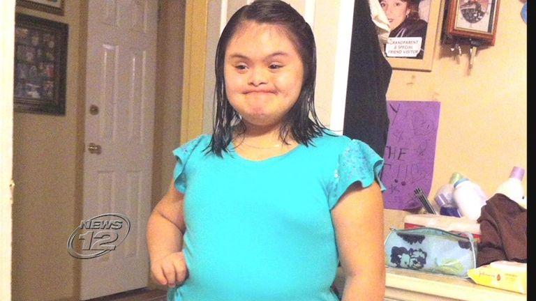 Bryanna Soplin, 13, was crossing north on Hempstead