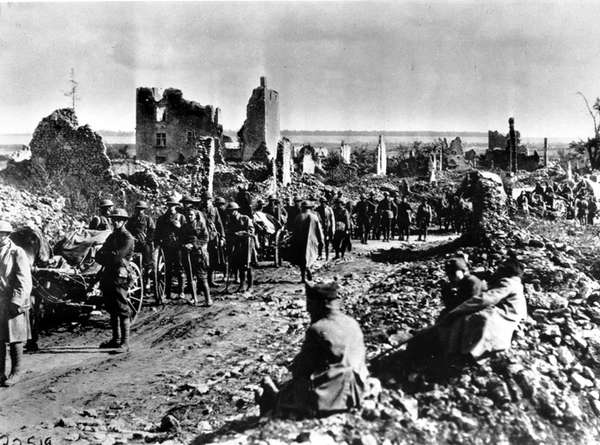 In July 1918, American troops from the 18th