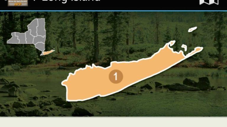 NY Fishing, Hunting & Wildlife app. KEYWORD: FishApps