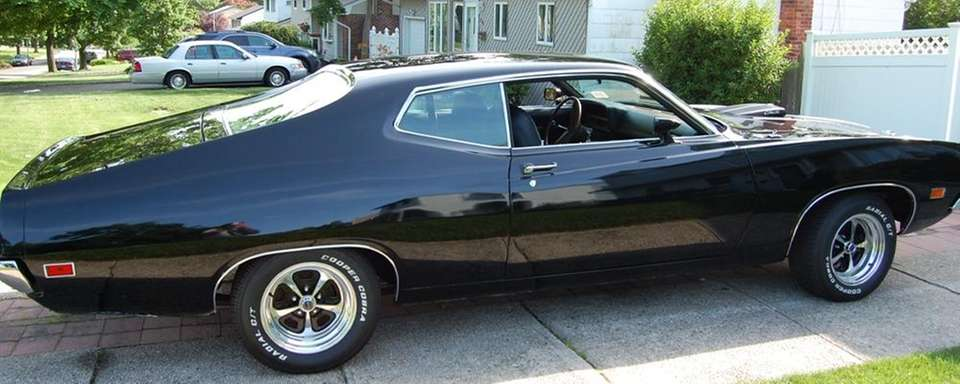 This 1970 Ford Torino Jet owned by James