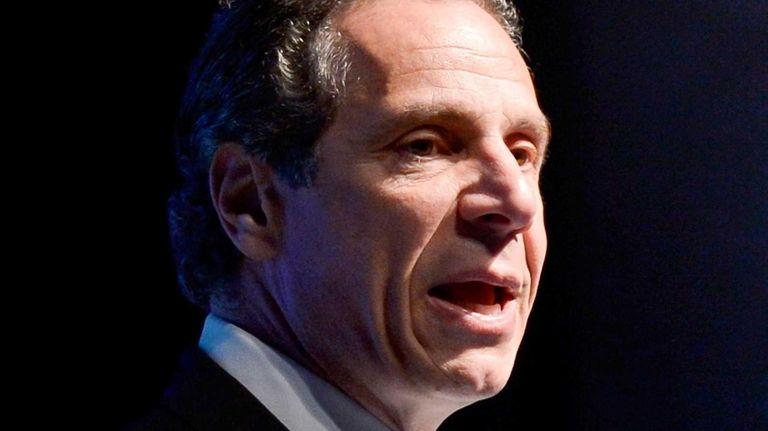 Gov. Andrew M. Cuomo on April 14, 2014