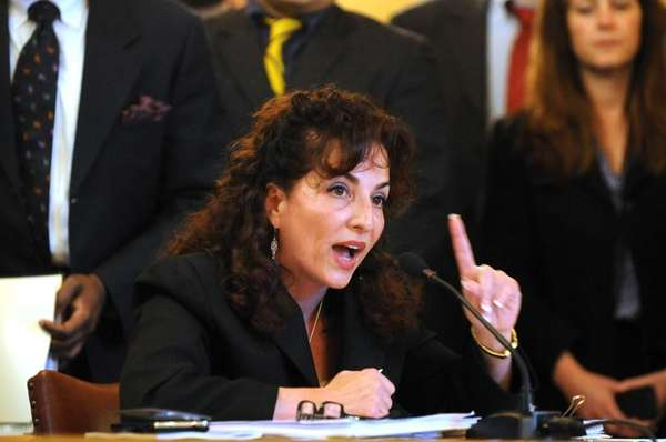 Sen. Diane Savino discusses the medical marijuana bill