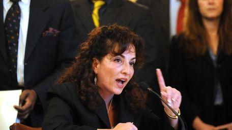 Sen. Diane Savino discusses the medical marijuana bill