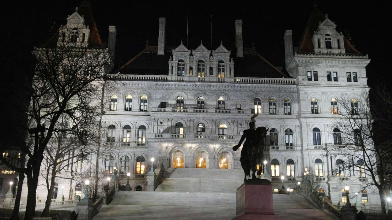 The State Capitol building on March 10, 2008