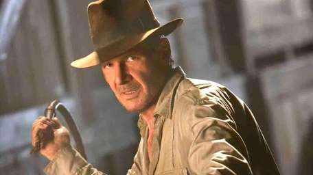 Harrison Ford revisits his Indiana Jones character in