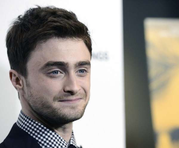 Daniel Radcliffe arrives at the premiere of