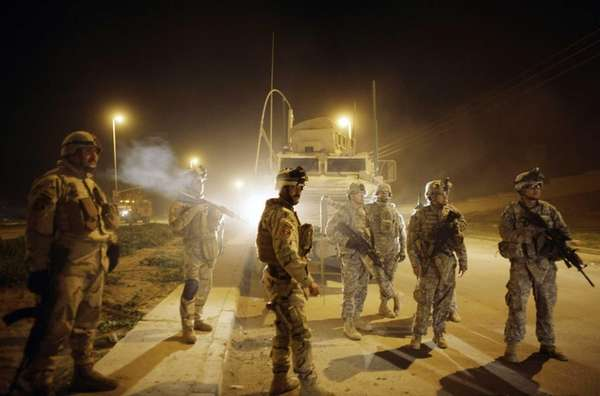On March 7, 2010, U.S. Army soldiers from