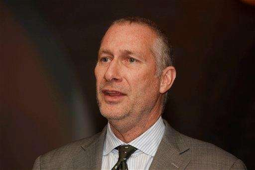 John Skipper, now president of ESPN, speaks at
