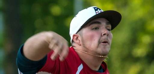 Nassau starting pitcher Adam Heidenfelder of MacArthur delivers