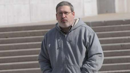 Barry Zornberg leaves federal court in Central Islip