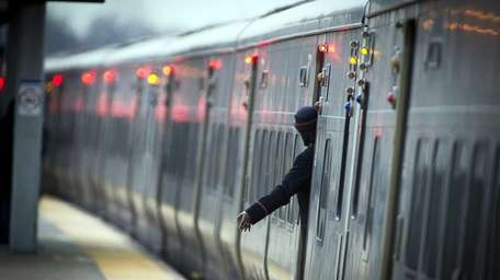 The LIRR says the package was discovered at