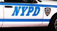 An NYPD patrol car.