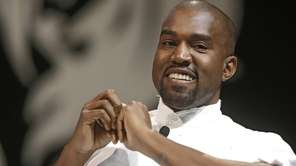 U.S rapper Kanye West attends the Cannes Lions
