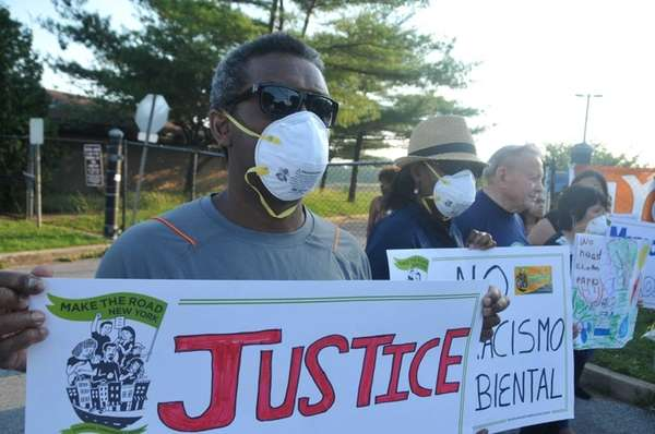 Dwayne Dugger, 57, of Brentwood, joined community activists