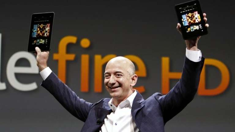 Jeff Bezos, CEO and founder of Amazon, introduces