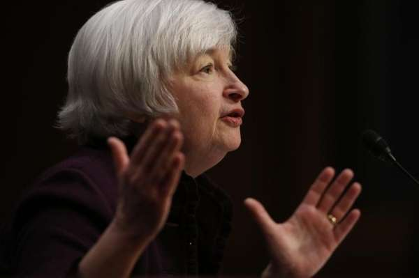 Federal Reserve Chair Janet Yellen testifies about the