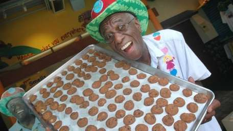 Wally Amos, who started the Famous Amos brand,