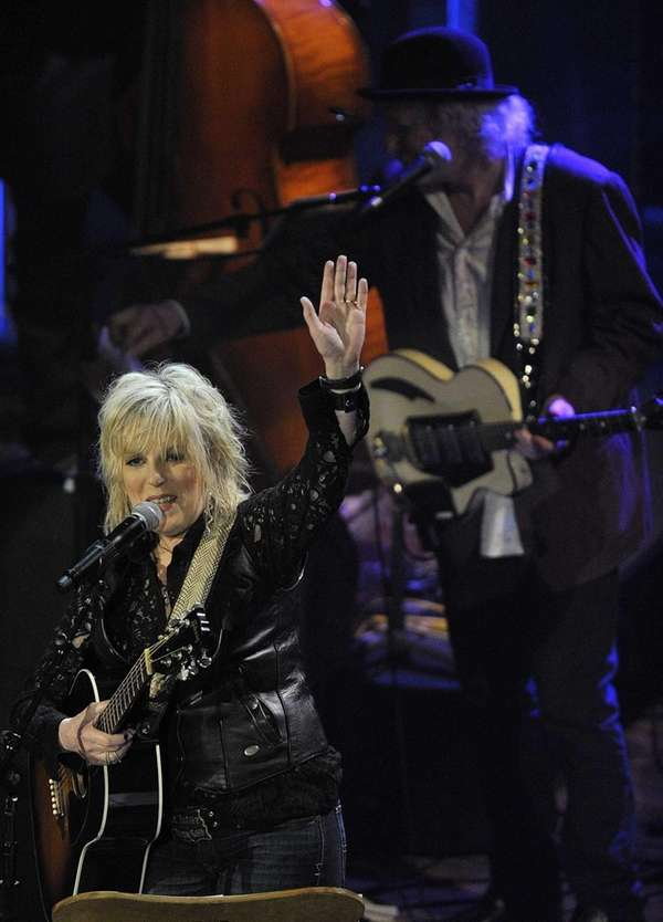 Lucinda Williams performs at the Americana Music Association