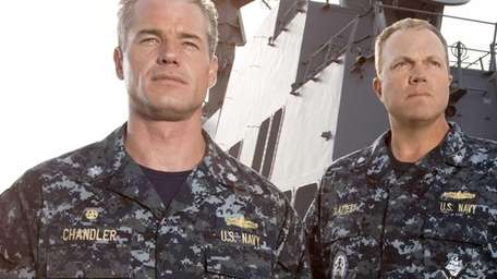 Eric Dane, left, and Adam Baldwin star as