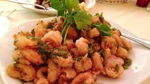 Cinque Terre in Huntington Station serves a fritto