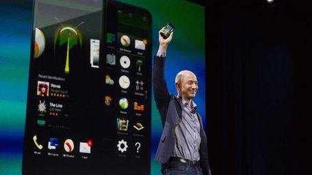 Jeff Bezos, chief executive officer of Amazon.com Inc.,