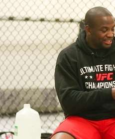 Eddie Gordon during training at Power MMA in