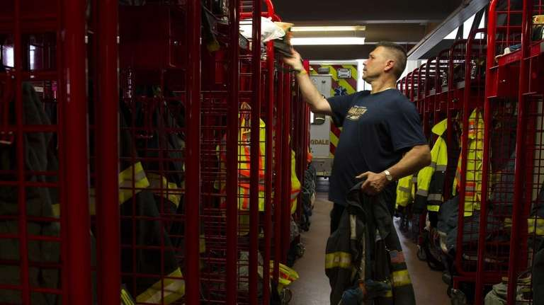 South Farmingdale firefighters and EMTs try new retirement
