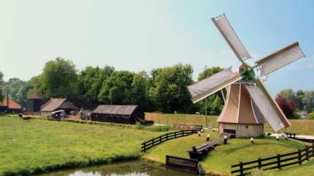 Once the conquerors of the sea, windmills still