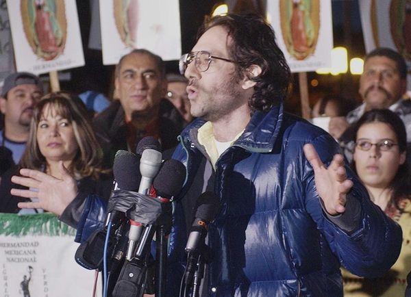 Dov Charney on Dec. 11, 2003 in Los