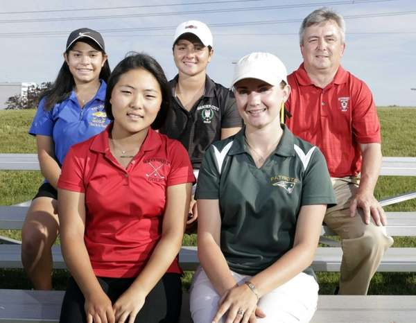All-Long Island Girls Golf Team (front row) Liz