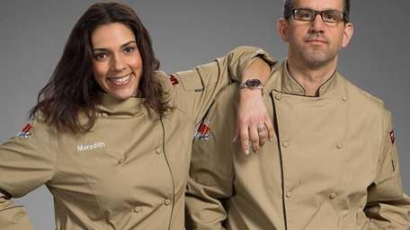 Meredith Gulfman and Don Donneruno are competing on