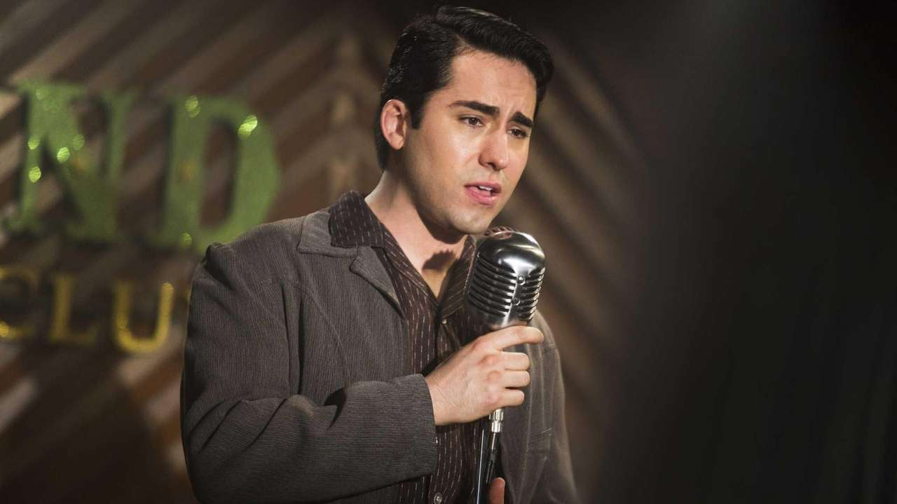 John Lloyd Young as Frankie Valli in Warner