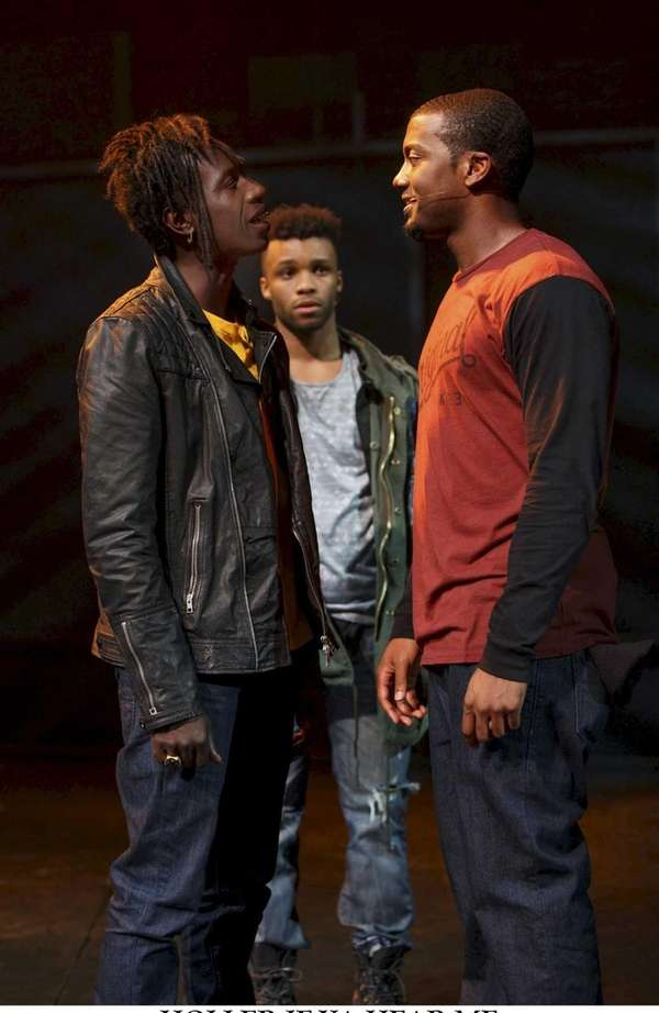 Saul Williams as John, Dyllon Burnside as Anthon