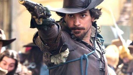 Santiago Cabrera plays the romantic Aramis, one of