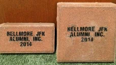 Examples of the bricks people can purchase as