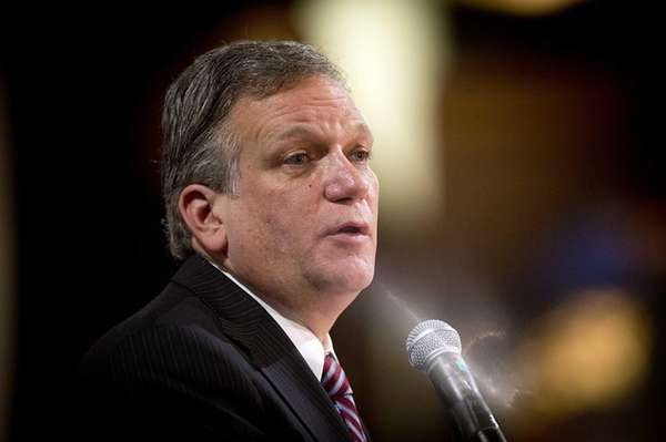 Nassau County Executive Edward Mangano on Jan. 10,