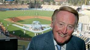 The broadcast voice of the Los Angeles Dodgers,