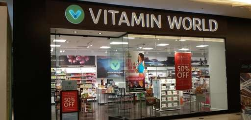 The new flagship location of Vitamin World at