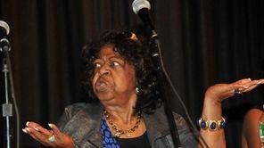 Longtime Hempstead school board president Betty Cross, who